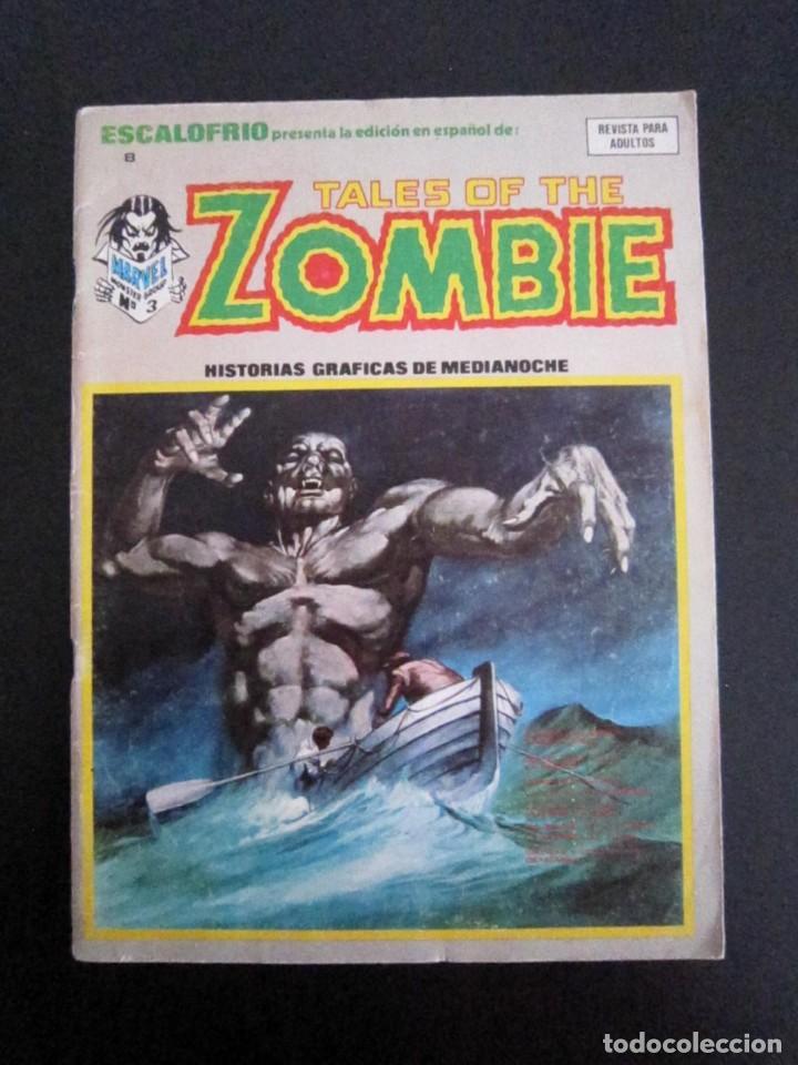 ESCALOFRÍO 8 - TALES OF THE ZOMBIE 3 - VÉRTICE - TERROR - 1974 - CÓMIC (Tebeos y Comics - Vértice - Terror)