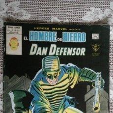 Cómics: EL HOMBRE DE HIERRO DAN DEFENSOR, VOL 2 Nº 55, EDICIONES VERTICE. Lote 108743587