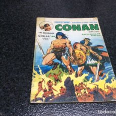 Cómics: CONAN - THE BARBARIAN - ANUAL - 80 - RETIRADO. Lote 26609501
