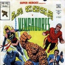 Cómics: SUPER HÉROES - V-2 - Nº 117 - LA COSA Y LOS VENGADORES- FRANK MILLER EN VÉRTICE-1979-MUY BUENO-7635. Lote 109166567