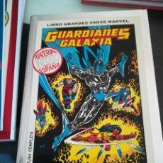 Cómics: LIBRO GRANDES SAGAS MARVEL - GUARDIANES DE LA GALAXIA - MISION : SALVAR EL FUTURO - AVENTURA COMPLET. Lote 109258811