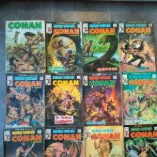 Cómics: LOTE 11 COMICS + UN RETAPADO CONAN EL BARBARO VERTICE VOL.1. Lote 109332131