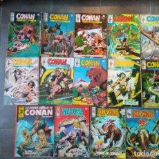 Cómics: LOTE 14 COMICS VERTICE CONAN EL BARBARO VOL.2 RED SONJA. Lote 109333019