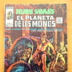 Cómics: RELATOS SALVAJES EL PLANETA DE LOS MONOS, Nº 2 - EDICIONES VÉRTICE 1979. Lote 109437951