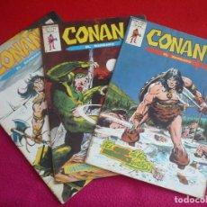 Cómics: CONAN EL BARBARO VOL. 2 NºS 39, 40 Y 41 ¡BUEN ESTADO! MARVEL VERTICE. Lote 109464199