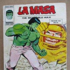 Cómics: LA MASA Nº 35. EDITORIAL VERTICE VOL. 1. Lote 110126731