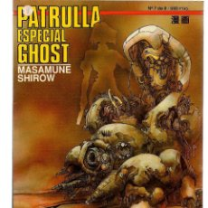 Comics: PATRULLA ESPECIAL GHOST. Nº 7 (DE 8) (C/A36). Lote 110389563