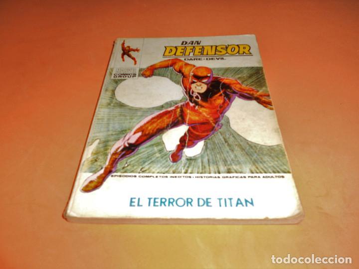 VERTICE. DAN DEFENSOR. V.1 Nº 47. EL TERROR DE TITAN. ESTADO NORMAL. (Tebeos y Comics - Vértice - Dan Defensor)