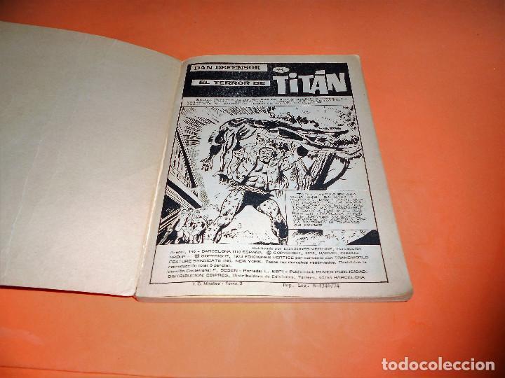 Cómics: VERTICE. DAN DEFENSOR. V.1 Nº 47. EL TERROR DE TITAN. ESTADO NORMAL. - Foto 3 - 110556343