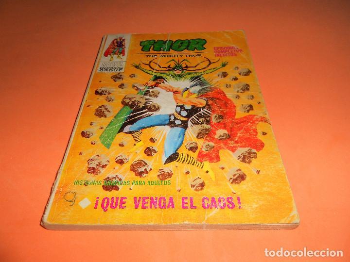 VERTICE. THOR V. 1 Nº 2- QUE VENGA EL CAOS. ESTADO NORMAL (Tebeos y Comics - Vértice - Thor)