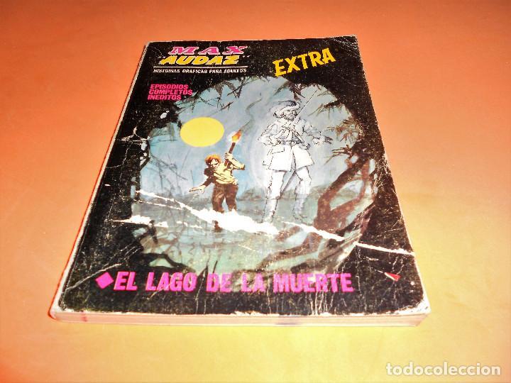VERTICE. MAX AUDAZ. V 1. Nº 20. 1969. EL LAGO DE LA MUERTE. ESTADO NORMAL (Tebeos y Comics - Vértice - Otros)