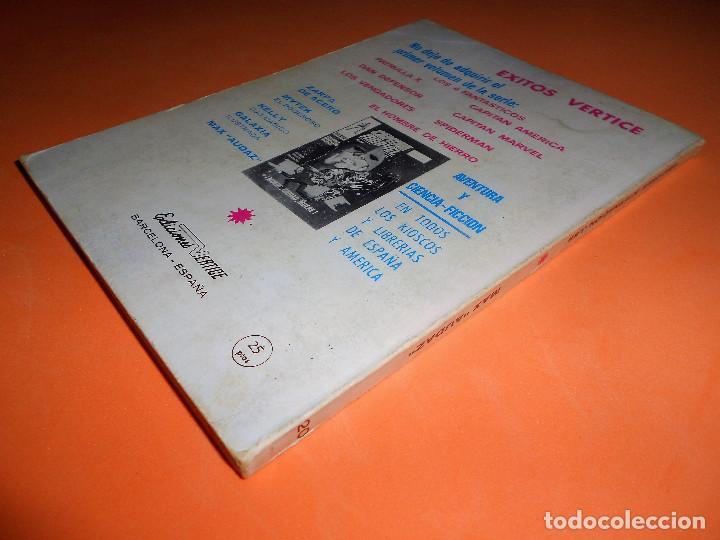 Cómics: VERTICE. MAX AUDAZ. V 1. Nº 20. 1969. EL LAGO DE LA MUERTE. ESTADO NORMAL - Foto 2 - 110570059