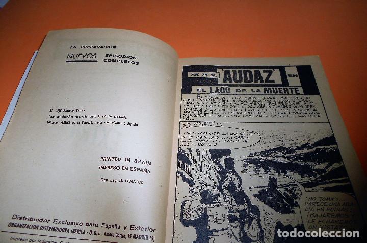 Cómics: VERTICE. MAX AUDAZ. V 1. Nº 20. 1969. EL LAGO DE LA MUERTE. ESTADO NORMAL - Foto 3 - 110570059