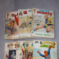 Cómics: SUPER HEROES VOLUMEN 1 COMPLETA DEL 1 AL 10 VERTICE TACO. Lote 110686915