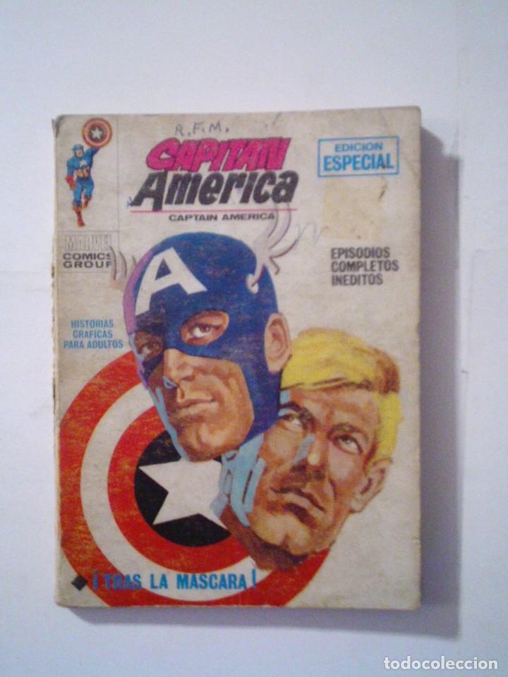 CAPITAN AMERICA - VERTICE - VOLUMEN 1 - NUMERO 6 - CJ 72 - GORBAUD (Tebeos y Comics - Vértice - Capitán América)