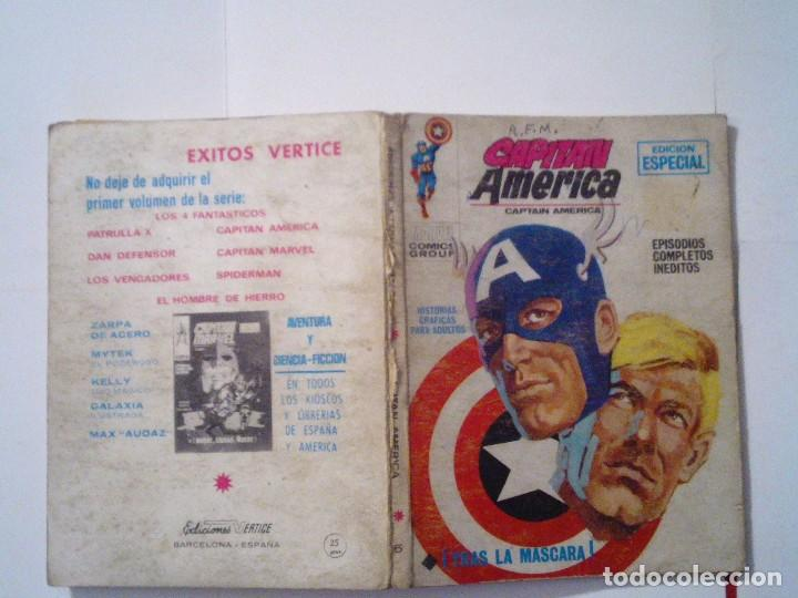 Cómics: CAPITAN AMERICA - VERTICE - VOLUMEN 1 - NUMERO 6 - CJ 72 - GORBAUD - Foto 5 - 110710879