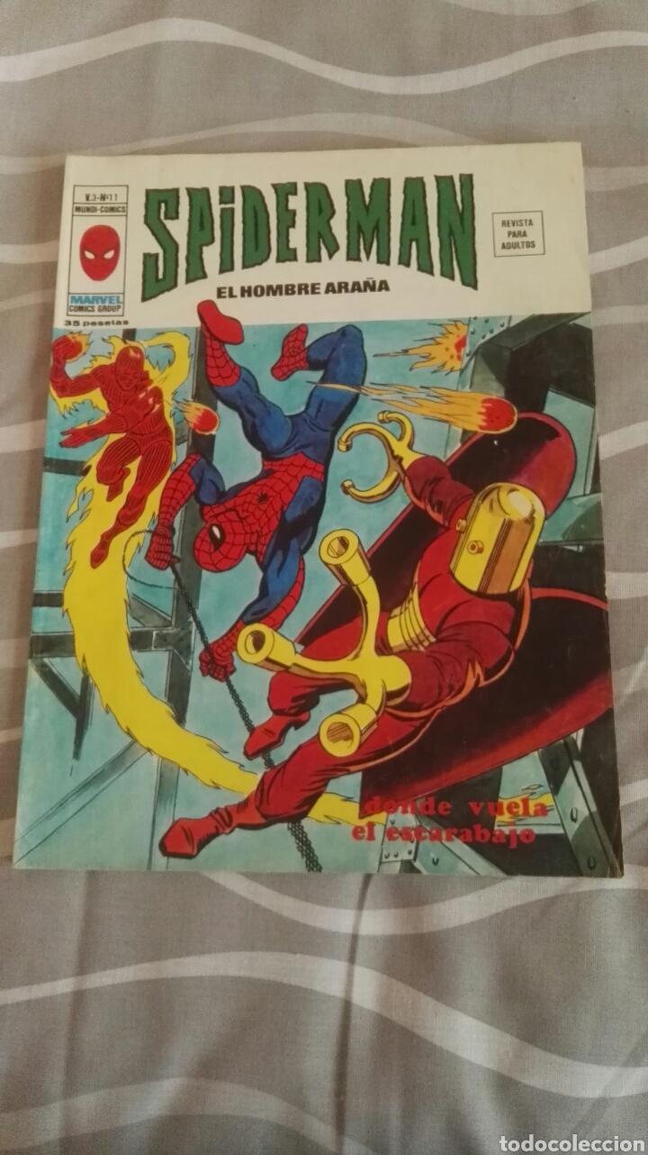 COMIC SPIDERMAN, V.3-N°11, DONDE VUELA EL ESCARABAJO, ED. VERTICE, 1973 (Tebeos y Comics - Vértice - V.3)