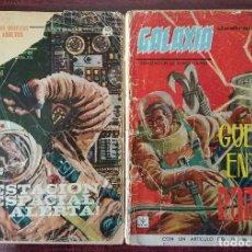 Cómics: GALAXIA Nº 1 Y 4 (GRAPA) (VERTICE 1965). Lote 110792191