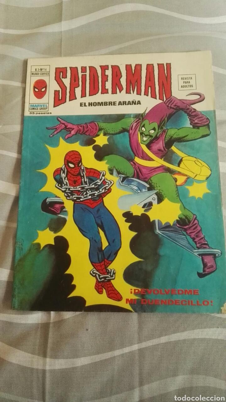 CÓMICS SPIDERMAN, V.3 N°14, ¡DEVOLVEDME MI DUENDECILLO!, ED. VERTICE, 1974 (Tebeos y Comics - Vértice - V.3)
