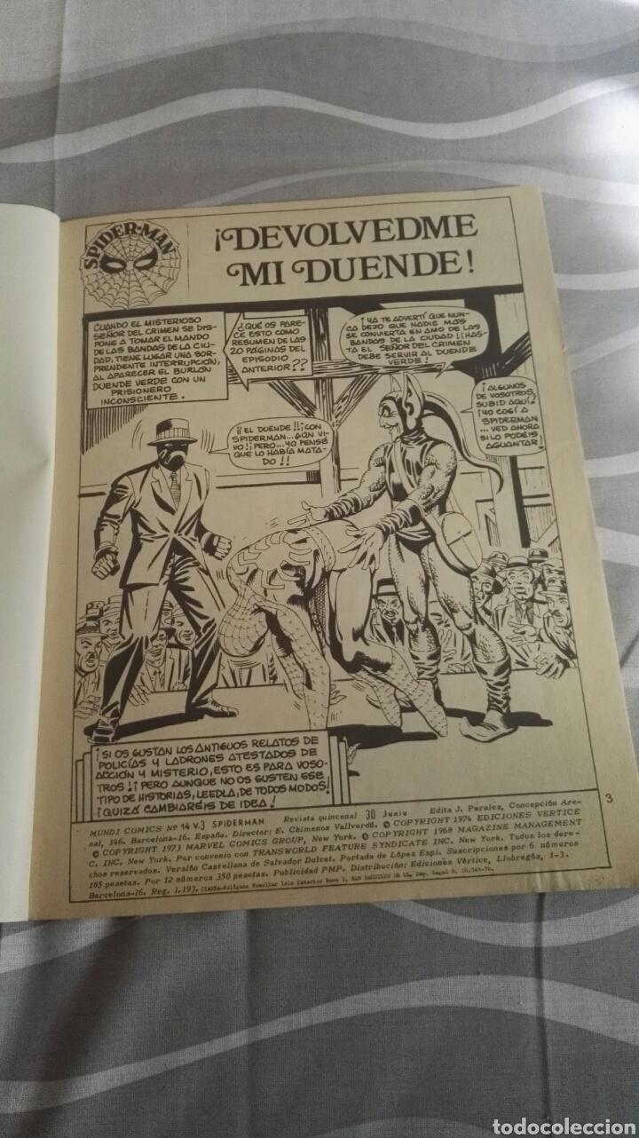 Cómics: Cómics Spiderman, V.3 N°14, ¡Devolvedme Mi Duendecillo!, Ed. Vertice, 1974 - Foto 3 - 110869550