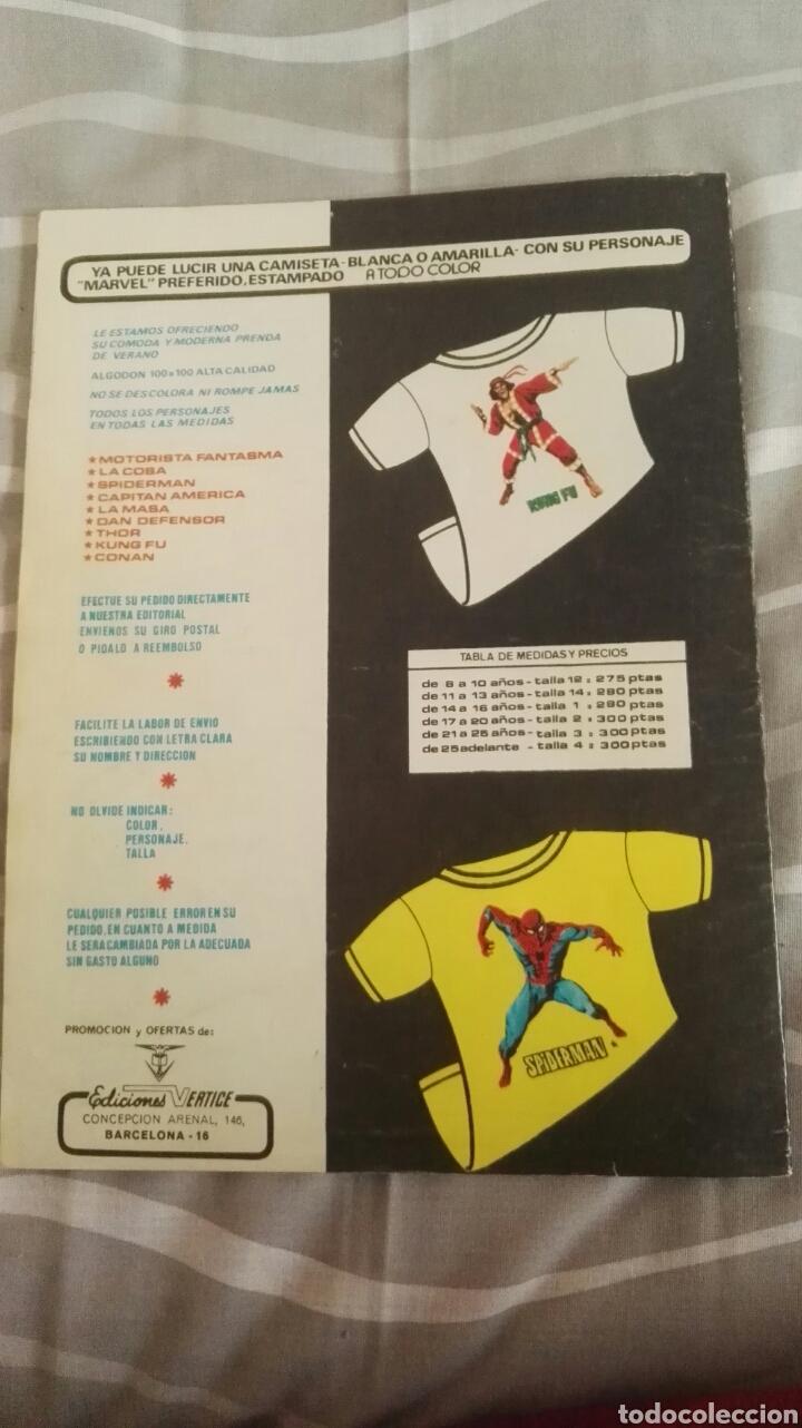Cómics: Cómics Spiderman, V.3 N°15, Las Zarpas Del Gato, Ed. Vertice, 1974 - Foto 4 - 110870610