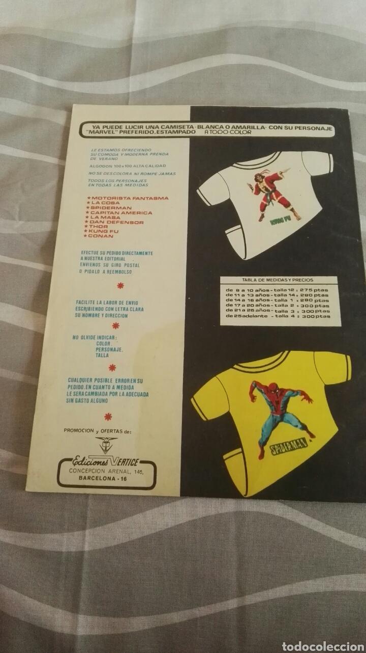 Cómics: Cómics Spiderman, V.3 N°16, ¡Un Hombre Furioso!, Ed. Vertice, 1974 - Foto 4 - 110871274