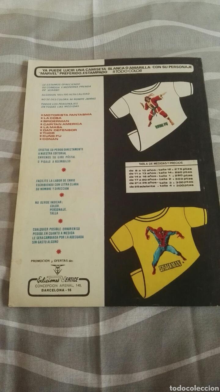 Cómics: Cómics Spiderman, V.3 N°17, ¡La Emoción De La Caza!, Ed. Vertice, 1974 - Foto 4 - 110871919
