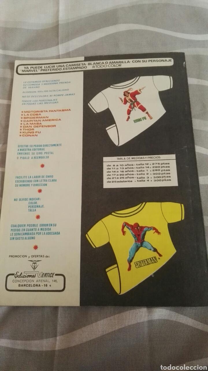 Cómics: Cómics Spiderman, V.3 N°18, La Caída De Un Meteoro, Ed. Vertice, 1974 - Foto 4 - 110872783