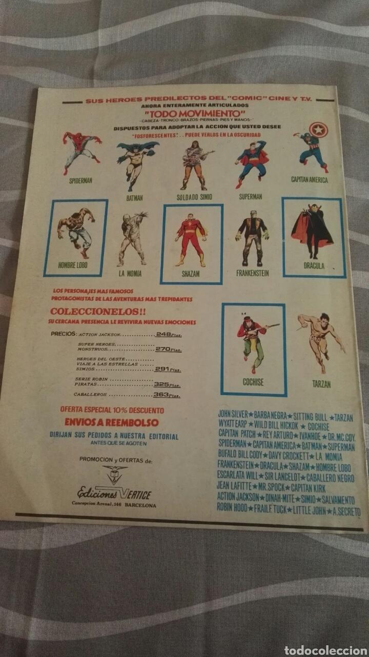 Cómics: Cómics Spiderman, V.3 N°22, El Artero Lagarto, Ed. Vertice, 1974 - Foto 4 - 110874766
