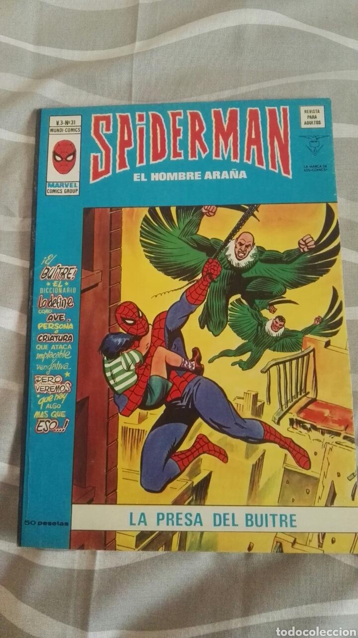 CÓMICS SPIDERMAN, V.3 N°31, LA PRESA DEL BUITRE, ED. VERTICE, 1974 (Tebeos y Comics - Vértice - V.3)