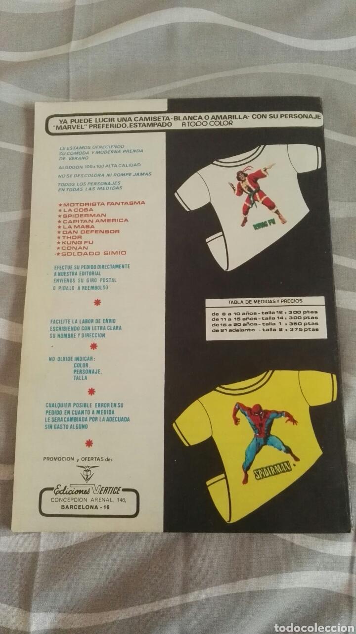 Cómics: Cómics Spiderman, V.3 N°31, La Presa Del Buitre, Ed. Vertice, 1974 - Foto 4 - 110878278