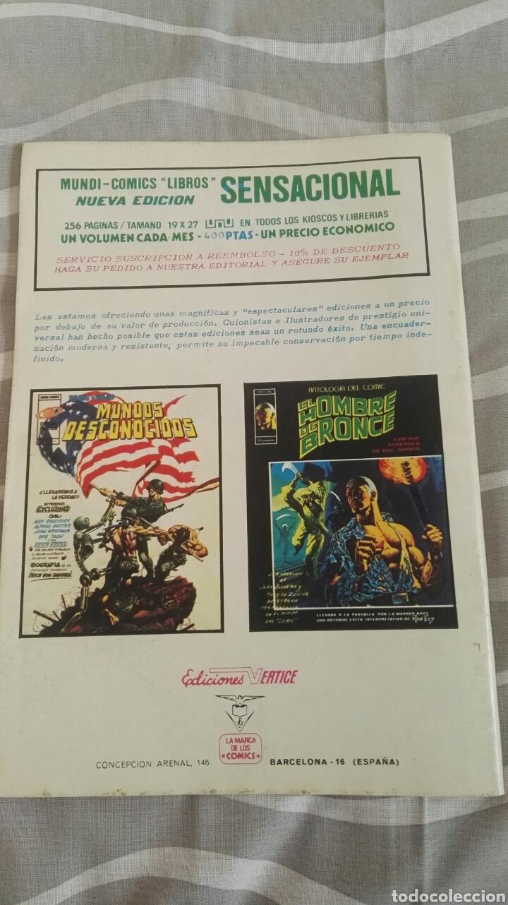 Cómics: Cómics Spiderman, V.3 N°36, El Fin De Una Vida, Ed. Vertice, 1974 - Foto 4 - 110880259