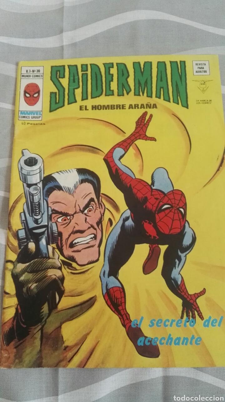 CÓMICS SPIDERMAN, V.3 N°39, EL SECRETO DEL ACECHANTE, ED. VERTICE, 1974 (Tebeos y Comics - Vértice - V.3)