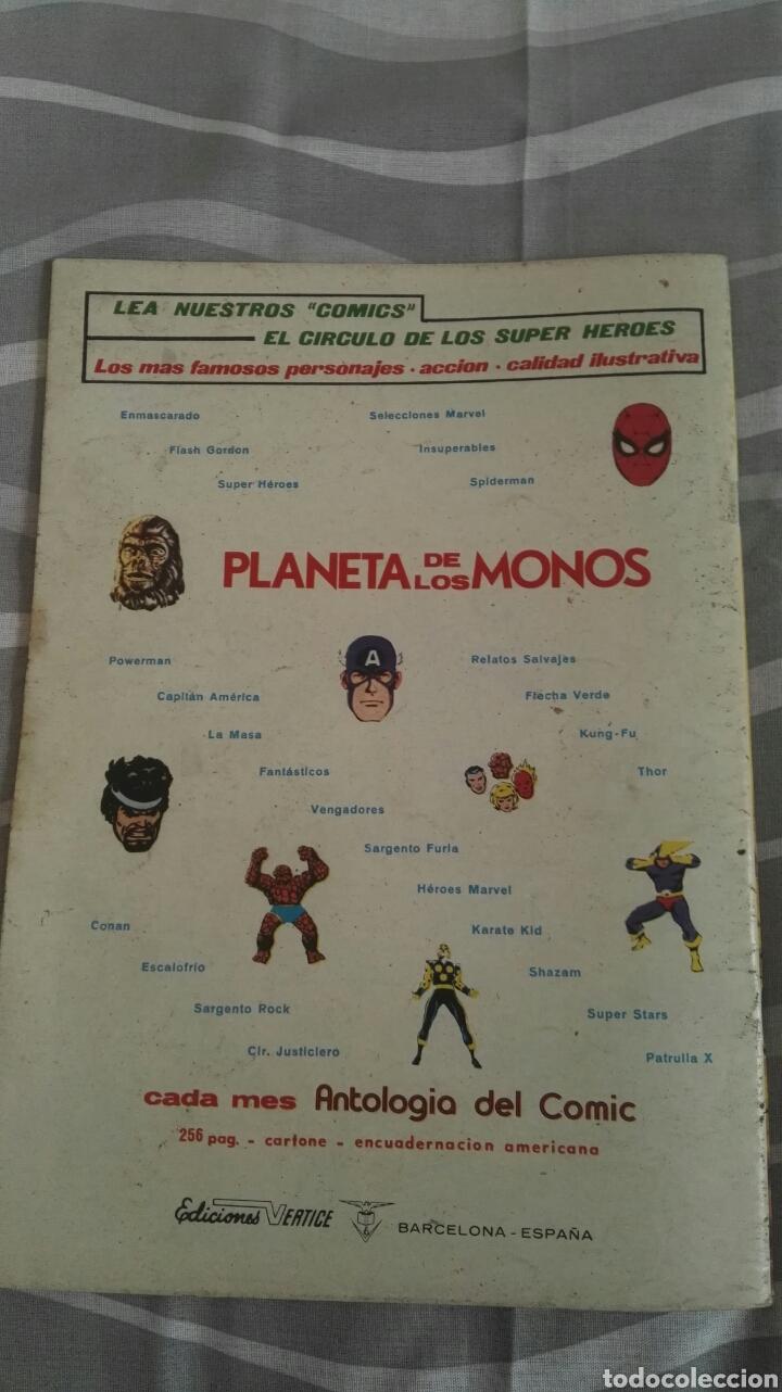 Cómics: Cómics Spiderman, V.3 N°39, El Secreto Del Acechante, Ed. Vertice, 1974 - Foto 4 - 110880459