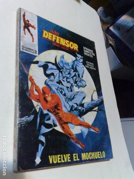 DAN DEFENSOR Nº 34 (COMPLETO, ED. VERTICE ) (Tebeos y Comics - Vértice - V.1)