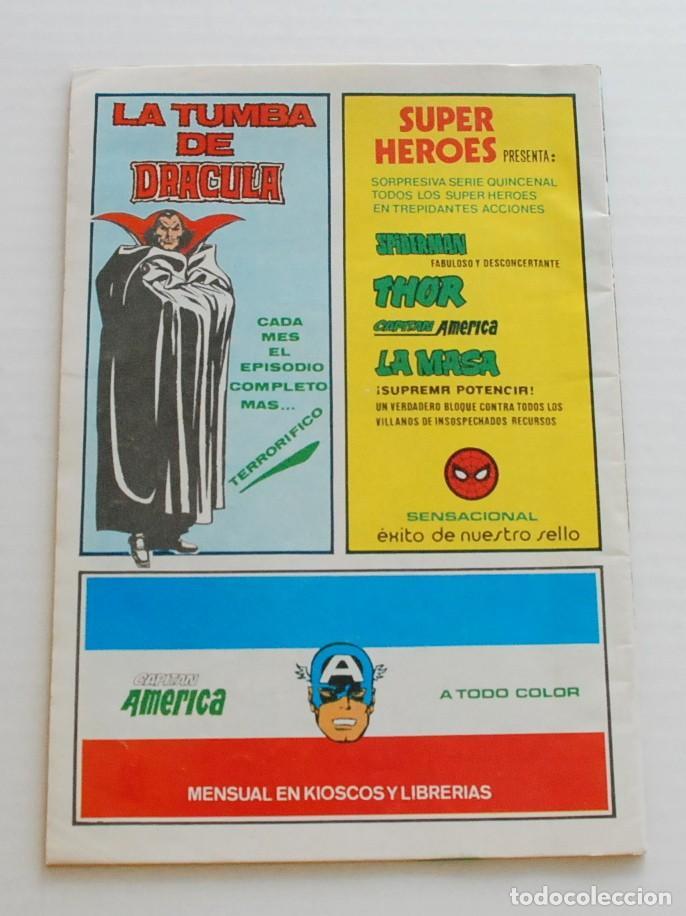 Cómics: SUPER HEROES LA COSA Y WUNDARR V.2 Nº 122 MUNDI COMICS VERTICE - Foto 2 - 111450231