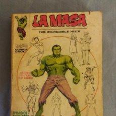 Cómics: COMIC LA MASA EDICION GIGANTE TACO EDICIONES VERTICE EDICIONES INTERNACIONALES ORIGINAL MUY DIFICIL. Lote 111621611