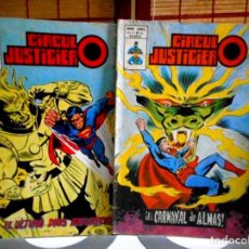 Comics : CÍRCULO JUSTICIERO Nº 13 - 14 ( LA LIGA DE LA JUSTICIA ). Lote 111674623