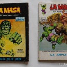 Cómics: LOTE 2 NUMEROS = LA MASA Nº5 (1970), Nº 33 (1973)-MARVEL COMICS GROUP- VG. Lote 111779855