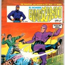 Cómics: EL HOMBRE ENMASCARADO. VOL. 2. Nº 1. EL TESORO DEL PIRATA. LOS TAMBORES. AÑO 1979. Lote 111883648