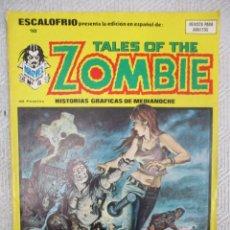 Cómics: ESCALOFRIO Nº 18 TALES OF THE ZOMBIE Nº 5 VERTICE. Lote 111957159