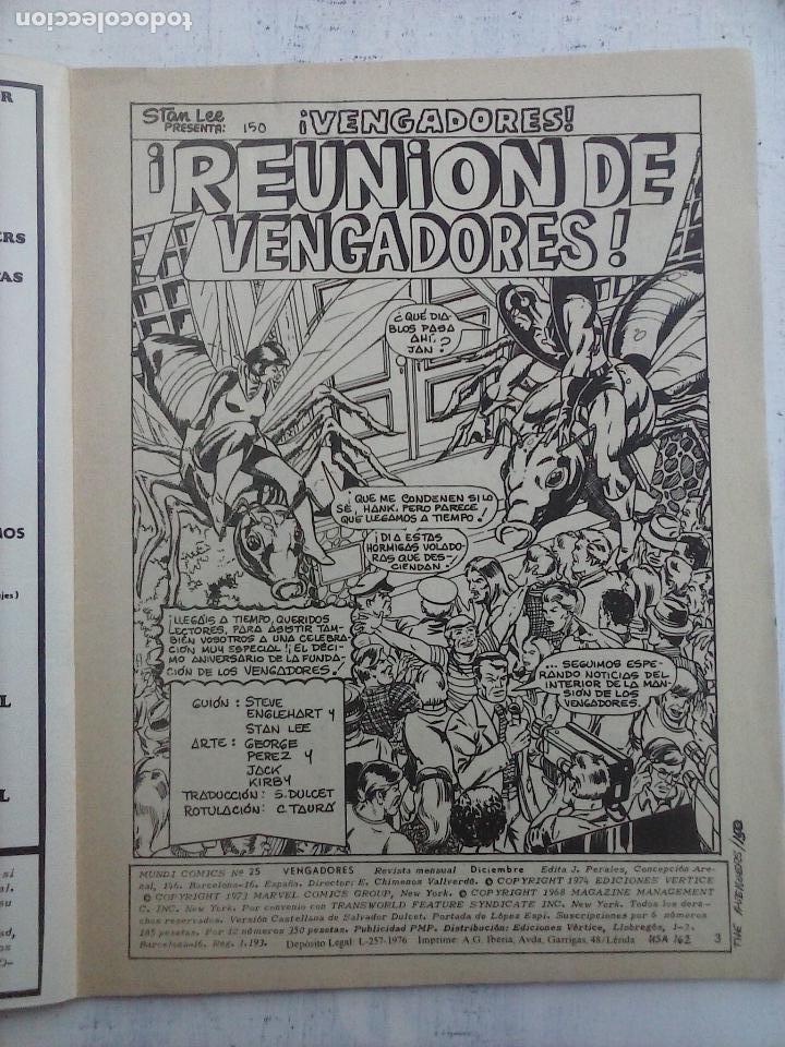 Cómics: LOS VENGADORES V 2 - 27 NºS -1,2,3,4,5,6,7,8,9,10,11,12,13,14,15,16,19,20,21,22,23,24,25,26,47,48,50 - Foto 71 - 107938947