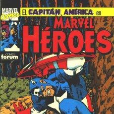 Cómics: MARVEL HEROES Nº 51: EL CAPITÁN AMÉRICA EN BUSCA DE LA GEMA SANGRIENTA.. Lote 112164183