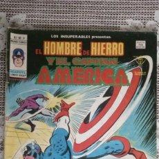 Cómics: EL HOMBRE DE HIERRO Y EL CAPITAN AMERICA, VOL 1 Nº 11, EDICIONES VERTICE. Lote 112168943