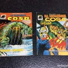 Cómics: SUPER HEROES , EL HOMBRE COSA Nº 3 Y 4 - EDITA : EDICIONES VERTICE - MUNDICOMICS. Lote 112248351