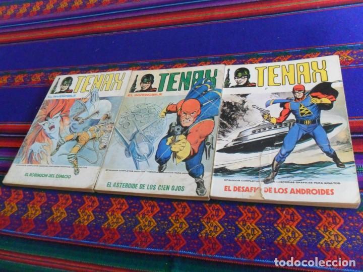 VÉRTICE VOL. 1 TENAX NºS 1, 10 Y 11. 30 PTS. 1973. (Tebeos y Comics - Vértice - V.1)