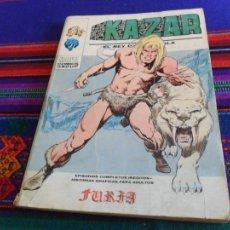 Cómics: VÉRTICE VOL. 1 KAZAR NºS 1 Y 6. 30 PTS. 1974.. Lote 19304781