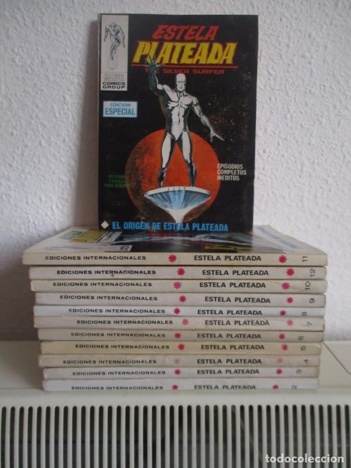 ESTELA PLATEADA VERTICE VOL. 1 COMPLETA ¡¡MUY BUEN ESTADO !!! EL Nº 4 Y EL 11 RENOVADOS !!!! (Tebeos y Comics - Vértice - V.1)