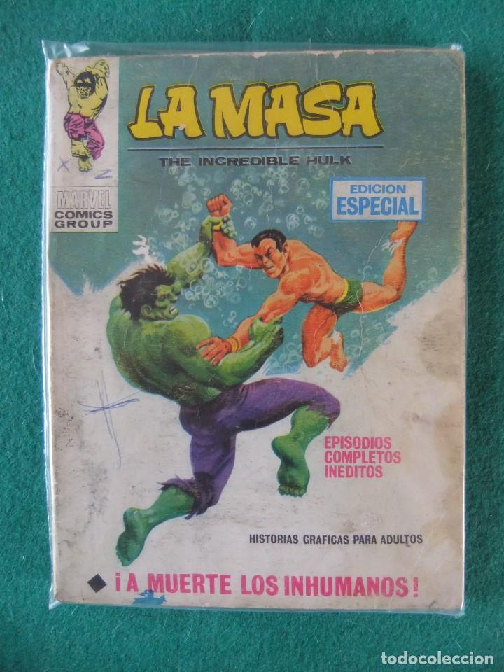 LA MASA Nº 8 A MUERTE LOS INUMANOS VERTICE TACO (Tebeos y Comics - Vértice - La Masa)