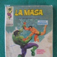 Cómics: LA MASA Nº 8 A MUERTE LOS INUMANOS VERTICE TACO. Lote 112414127